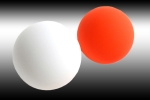 MB Contact Juggling Ball Peach 100